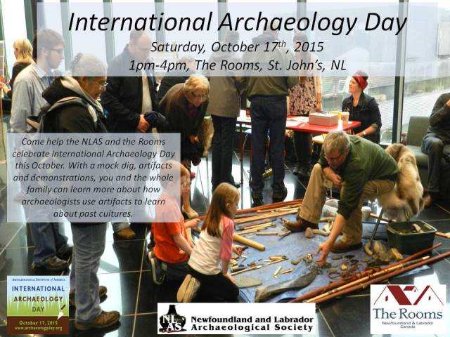 International Archaeology Day 2015